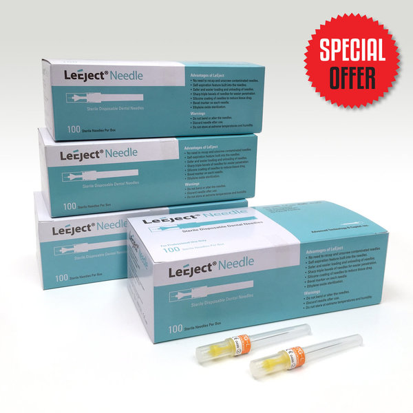 Buy 3 Get 1 Free - LeEject Needles (3+1)